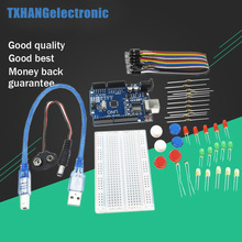 Arduino-Starter-Kit Uno R3 for Led/jumper-wires/Breadboard-resistor-kit with Retail-Box
