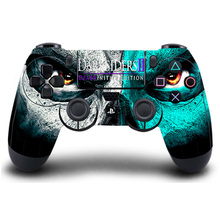 HOMEREALLY PS4 Controller Skin Dark Souls 3 PS4 Sticker for Sony PlayStation 4 DualShock Wireless Controller Game Accessory
