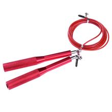 Buy 3M Steel Handle Skipping Rope Gym Fitness Exercise Speed Training Equipment Workout Skipping Jumping Rope Red Jump Rope for $6.83 in AliExpress store