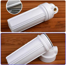 "10"" White Water Filter Housing 1/2'' port  with Double-Ring High Pressure Filter Bottle Water Filter Housing For Water Purifier"