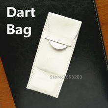 Dart Case  Dart Wallet  Dart Bag  Dart Accessories Artificial Leather Material; Black/White Color