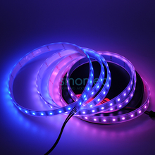 5M 52 LEDs/m LPD8806 8806 IC RGB Dream Color SMD 5050 LED Light Strip IP67 Waterproof Individual Addressable 4 PIN DC5V