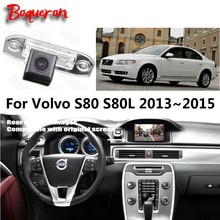 HD Car Rear View Back Up Reverse Camera Sets For Volvo S80 S80L 2013 2014 2015 / Night Vision / RCA & Original Screen Compatible(China)