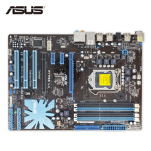 Asus P7P55 LX Original Used Desktop Motherboard P55 Socket LGA 1156 i3 i5 i7 DDR3 16G ATX On Sale