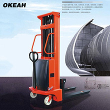 1500kg Semi-Automatic Fork Lift Truck Lifting Height 2m Can Push By Hand(China)