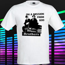Gildan New The Blues Brother Soul Blues Rock Music Men's White t-shirt Size S to 3XL men's t-shirt