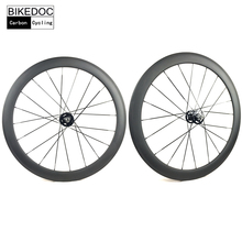 BIKEDOC Carbon Track Wheels 700C Fixed Gear Wheel 50MM Clincher Carbon Wheel Toray 700(China)