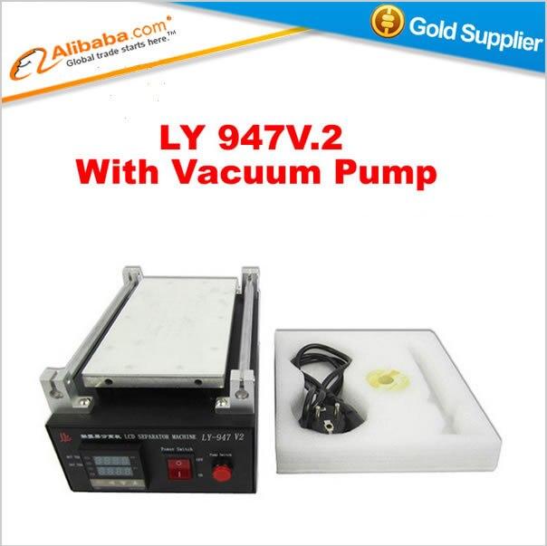Hot selling LY 947 v.2 vacuum lcd separator machine with pump mobile phones lcd repair machine<br><br>Aliexpress
