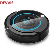 (Ship from Russia)Multifunction Robot Vacuum Cleaner A338 with mop,Schedule,LCD, Virtual blocker,Self Charge,UV,Remtote Control(China)