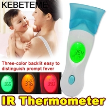 Multi-function 8 in 1 IR Infrared Thermometer Health Monitors Baby Adult Digital LCD Display Ear Forehead body thermometer gun(China)