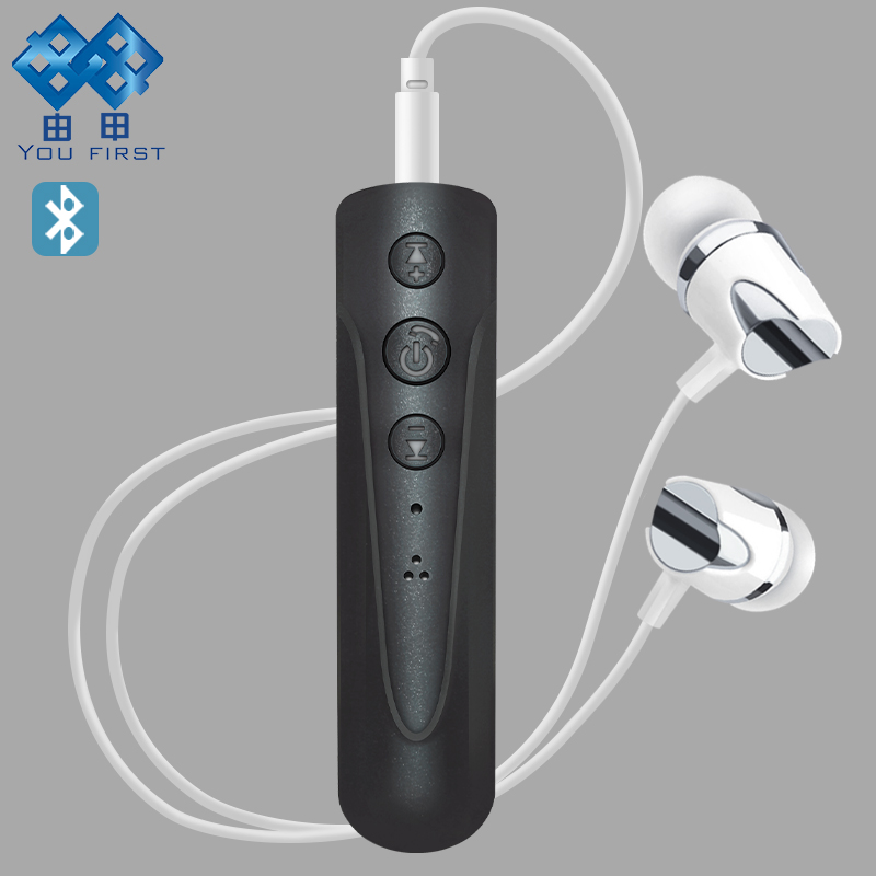 YOU FIRST Bluetooth Earphones Sport Wireless Handsfree 3.5mm Wired Earphones Wireless Headset Microphone Mobile Phone