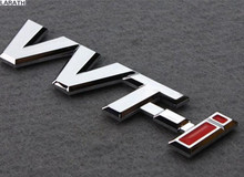 10 Pieces Black Silver Gold Full Metal VVTI Car Trunk Tail Sticker Emblem for Highlander Corolla Camry Reiz PRADO Vios Yaris