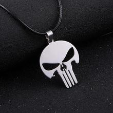 Punk Mens Cross Pendant Necklace For Men Women Stainless Steel Link Chain Necklace Statement Jewelry Choker Necklace Party Gift
