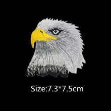 FFLACELL Large Eagle Embroidery Badge Decal Repair Patch Cowboy Harley Cloth Paste iron on patches applique scrapbooking