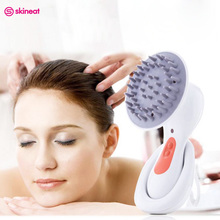 Skineat Electric Head Scalp Massager Multi-function Massage Device Waterproof Wireless Headache Stress Relieve Care Hair Comb