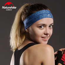 Naturehike Head Sweatband Woman Man One size Good Elasticity Breathable Comfortable Quick-drying Running Scarf Black Red Blue(China)