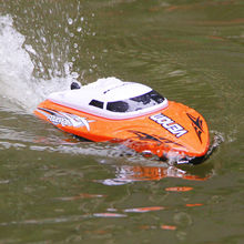2.4G RC Boat UDI udi001 boat Infinitely Variable Speeds/high Speed Racing Boat 32CM 25km/h Best Gift(China)