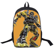 Transformers backpack School Bag Children stedent book bag Backpack Mochila Bag Waterproof Cartoon Boys Book Bag 8 style