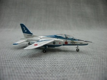 1:200 Japan Self-defense Force Kawasaki T-4 fighter aircraft model(China)