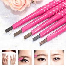 1pcs Women Ladies Waterproof Long Lasting Black Brown Eyebrow Pencil Brown Eye Pen Makeup Cosmetic Beauty Tools