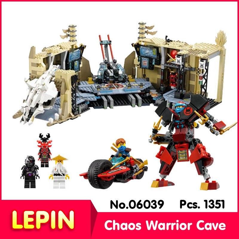 LEPIN 06039 11767Pcs Ninja Series Samurai X Cave Chaos Assemble  Model Building  Set Blocks Compatible 70596 Gift<br><br>Aliexpress