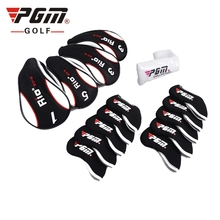 13-Pcs Golf Club Head Covers Headcovers Protect Case Colorful. Full Complete Golf Clubs Set Headcovers Rod Covers Head Covers(China)