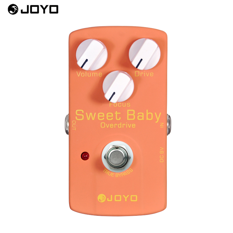 NEW! JOYO Effece pedal low gain (overdrive) JF-36 Sweet Baby, True bypass design free power supply and shipping<br>