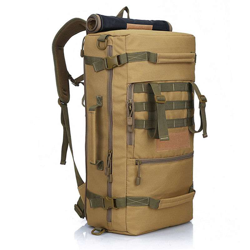 Molle Equipment Tactics Backpack Large Capacity Travel Bag Pack Waterproof Nylon 3P Army Military Backpack Travel School Bag<br>