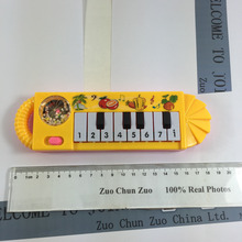 Small Lovely pattern yellow piano Study music NEW musical toy instrument toys for children baby educational W023