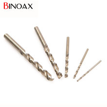 Binoax 5PCS Stainless Steel M35 Cobalt Drill Bit Set Multi Bit Tool Straight Shank For Metal Stainless steel #P00285#