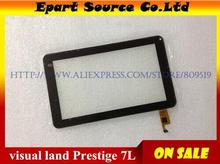 A+ 7 Inch Digitizer Front Touch Screen Glass Replacement For Visual Land Prestige 7L TOPSUN_C0027_A1