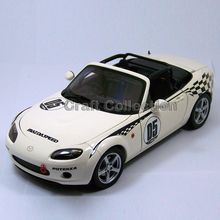 White Auto Art 1/18 MAZDA #05 Sport Coupe Car Alloy Model Car Convertible Classical Miniature Toys Limited Edition