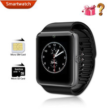 Smart Watch GT08 SmartWatch With Camera Bluetooth Health Fitness Android Wear for ault Smart Watches Mobile Phone(China)