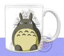 New Totoro Ceramic Coffee Mug White Color Or Color Changed Cup Cute Totoro