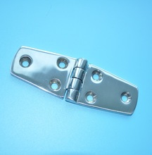 "AISI 316 Stainless Steel Marine Boat Casting Strap Hinge 4"" x 1-1/2"""