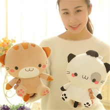 Kawaii 20CM Cute Rice Balls Cat Toys Cartoon Toys For Girls Stuffed Dolls kids Toys Stuffed Plush Animals Brinquedos