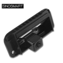 SINOSMART In Stock Car Rearview Parking Reverse Camera for Mercedes Benz C200 C260 S400L S600L C300 Install in Rear Trunk Handle(China)