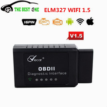 Newly Arrival Viecar WIFI ELM327 V1.5 OBD2 Scanner Support All OBDII Protocols Work For IOS/Android/PC Wireless Connect ELM 327