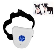 Small Pet Dog 2 Modes Ultrasonic Anti Barking Training Shock Control Collar waterproof easy