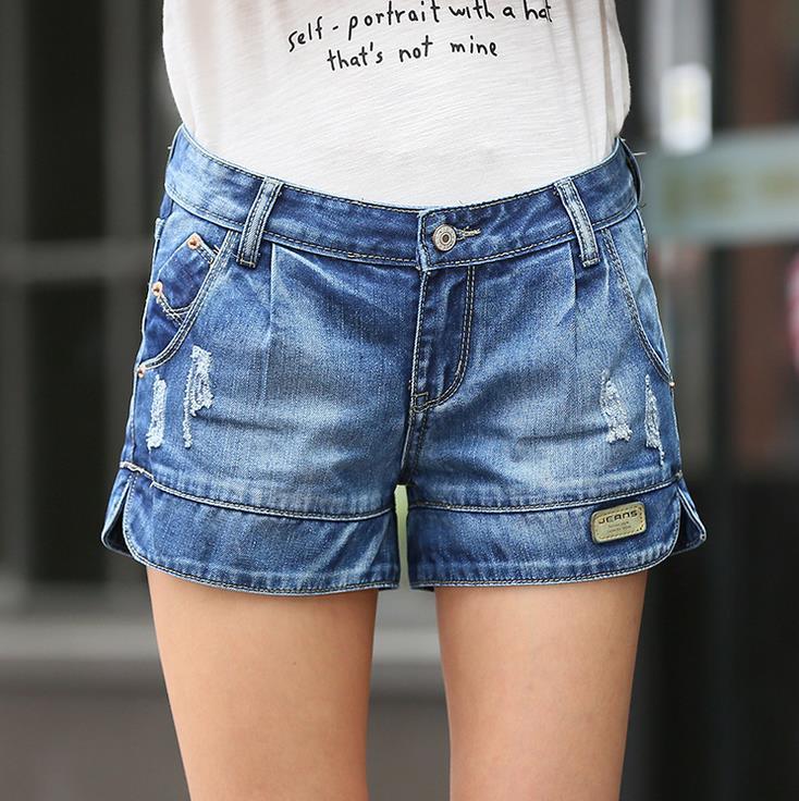 2017 Hot Sale Retro Women Girls Denim Wide leg Shorts Ladies Scratch Short Pants Womens Jeans Shorts Plus Size Free shippingОдежда и ак�е��уары<br><br><br>Aliexpress