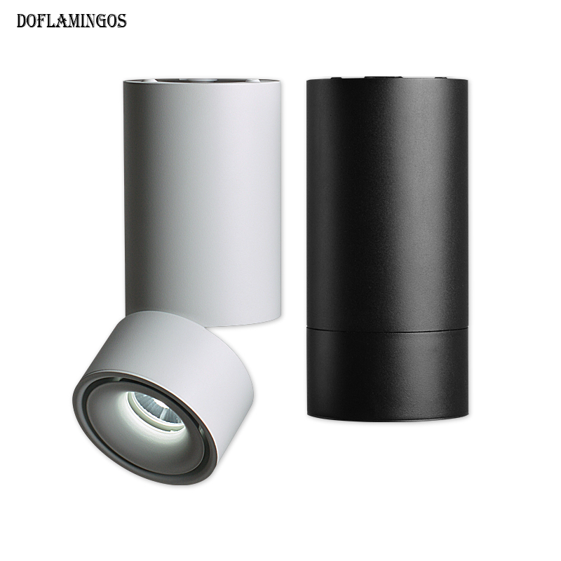 360 degree rotation LED Spotlight 7W 12W Living Room Bedroom LED Down light  Indoor Modern Home Aisle Lighting AC 220V 240V<br>