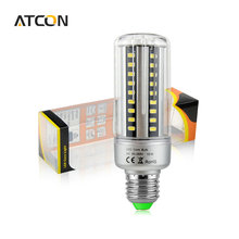 1X High Lumen 100LM/W E27 E14 5W 7W 9W 12W 18W 20W 85-265V LED Corn light Aluminum Cooling Long Lifespan 5736 SMD LED lamp Bulb