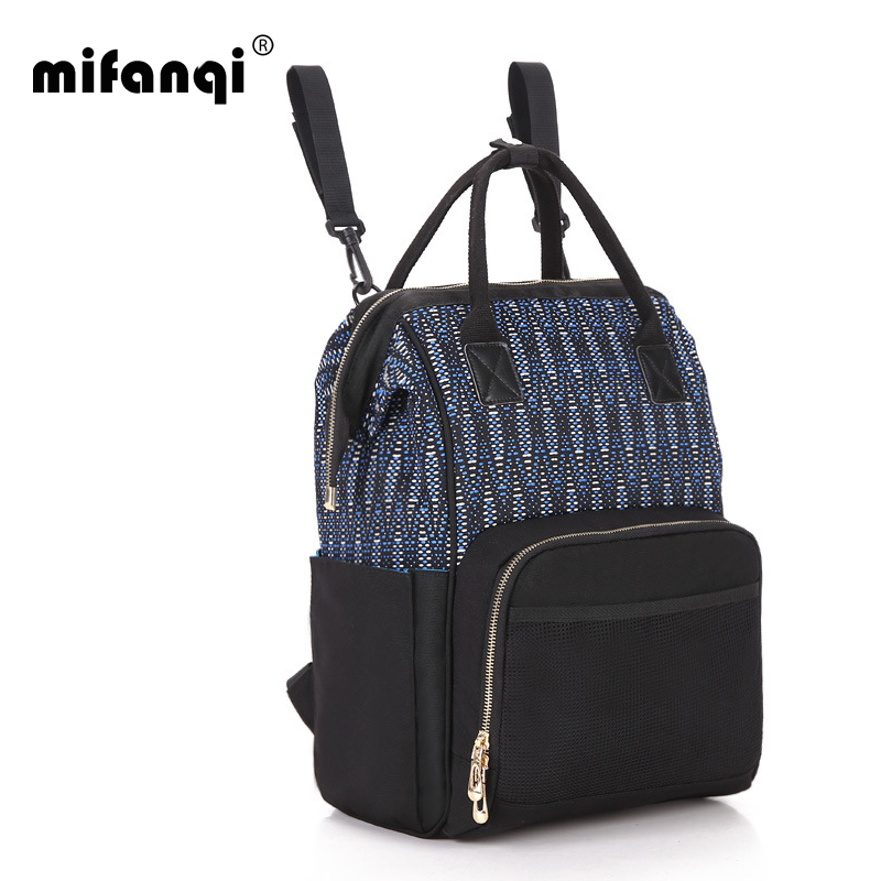 MIFANQI Diaper bag Mummy Maternity Nappy Bag stroller hang  Baby Bag Travel Backpack Designer Nursing Bag Baby Care<br>