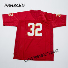 Retro star #32 Marcus Allen Embroidered Throwback Football Jersey(China)