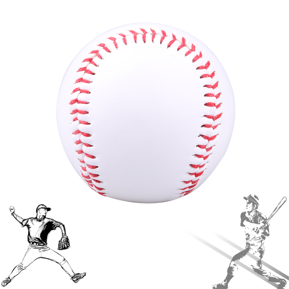 "9"" Handmade Baseballs PVC&PU Upper Hard&Soft Baseball Balls Softball Ball Training Exercise Baseball Balls(China (Mainland))"