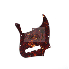 Tortoise Shell 4Ply JB Pickguard For Genuine FenderUS/Mexico Made Standard Jazz Style Bass(China)