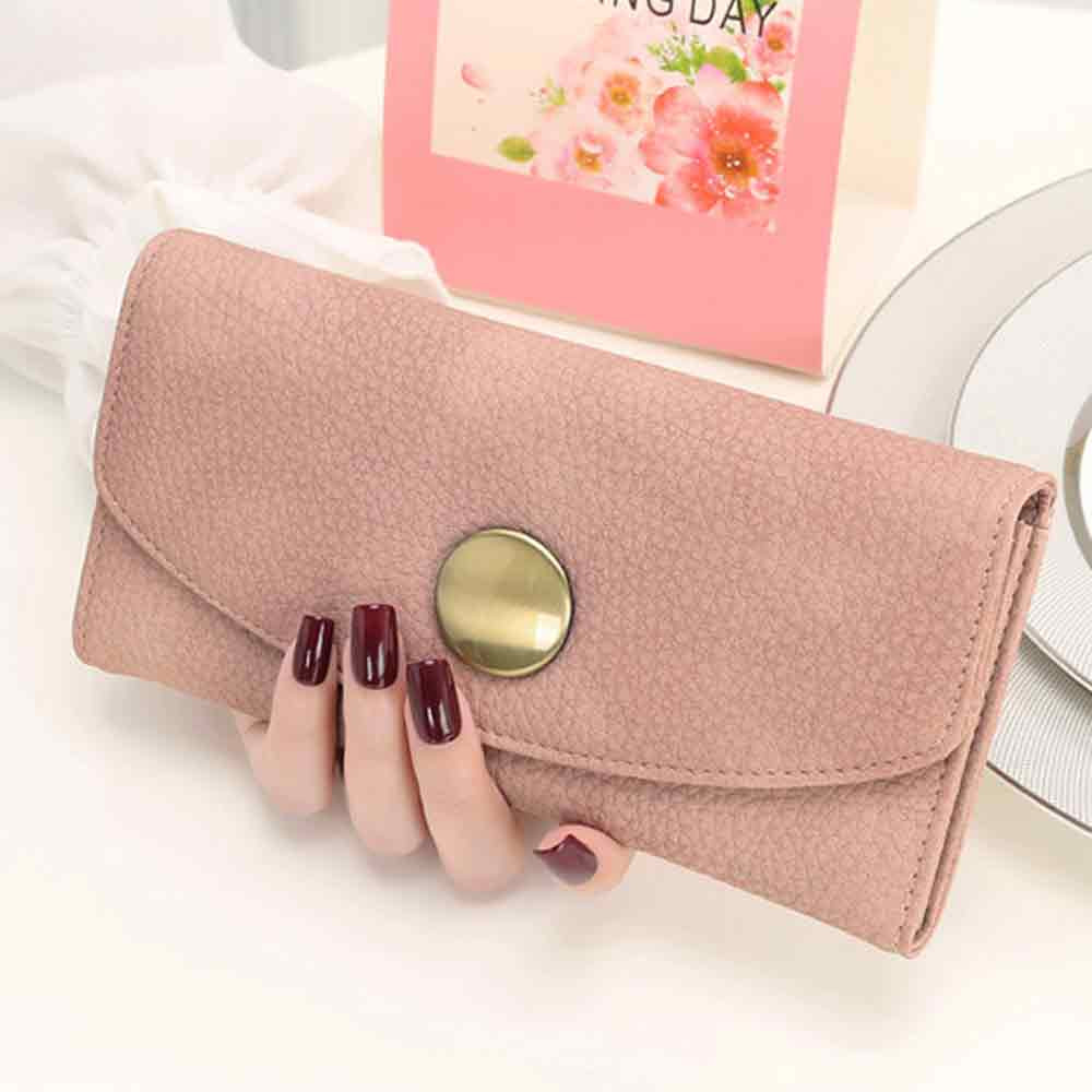 New Fashion Ladies Women Purse High Capacity Leather Clutch Wallet Casual Female Coin Card Holder Money Bag Long Wallet Gift<br><br>Aliexpress