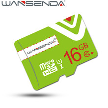 Upgrade Green Wansenda  TF Card 16GB 64GB Class 10 tf memory card 4GB 8GB micro tf card High speed 32GB Memory Card with adapter