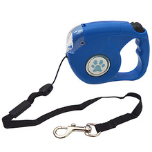 5m Automatic Retractable Dog Leash With LED Nylon Extending Puppy Walking Adjustable Pet Traction Wholesale SHdog368