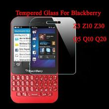 0.3mm 2.5D 9H Tempered Glass Protective Film For BlackBerry Q10 Q20 Z10 Z30 Z3 Mobile Phone Screen Protector(China)